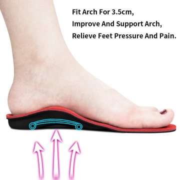 Palmilhas de pés chatos Orthotic Arch Support Pad