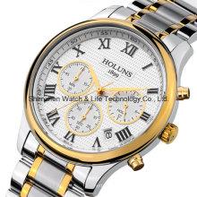 Acier inoxydable Sport Business Montre bracelet
