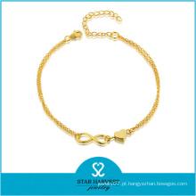 Vogue 925 jóias de prata dia dos namorados pulseira (j-0227b)