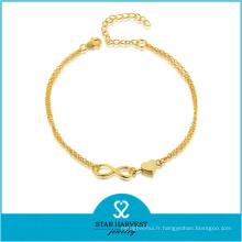 Vogue 925 Bijoux en argent Saint Valentin Bracelet (J-0227B)