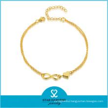 Vogue 925 Silver Jewelry Valentines Days Bracelet (J-0227B)
