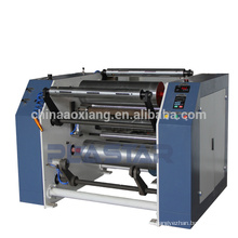 Full automatic high speed plastic stretch film slitting rewinder machine