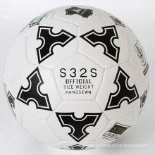 Balón de fútbol promocional cosido máquina de impresión a todo color