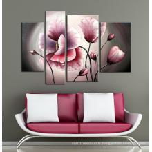 Haute qualité 100% artisanat mural sur toile