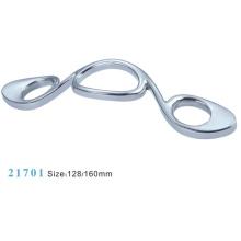 Poignées pour meubles en alliage de zinc en ferrure pour meuble (21701)