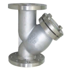 with Small Drain Carbon Steel Y Strainer