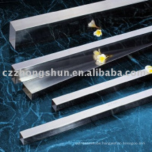 astm polished high quality 304 structure steel square pipe in stock