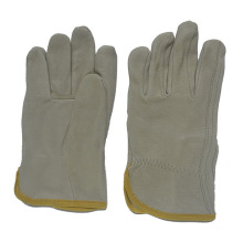 Pig Leather Working Safety Driving Gloves for Drivers