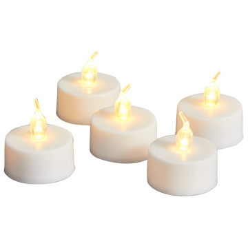 Lilin Tealight LED daya baterai Flameless