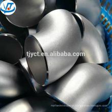 Cotovelo de aço inoxidável padrão de 90 graus do RUÍDO de ASTM JIS / SUS304 de dobra
