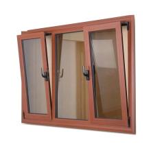 Aluminium Thermal Break Anti Theft Top Hung Windows Swing Double Hung Window