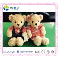 Teddy Bear Plush Toy Stuffed Couple Bears Soft Kids Toys