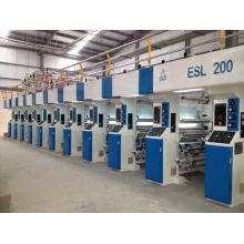Impresora de huecograbado con accionamiento de eje electrónico de 200 m / min