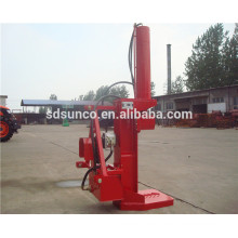 Horizontal and vertical gasoline engine towable tractor