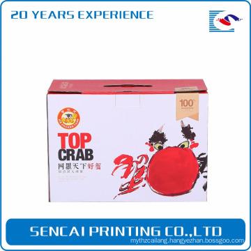 Sencai yangcheng Lake hairy crabs paper box