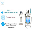 Laboratory jacketed glass reactor