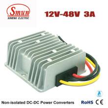 12V a 48V 3A 144W DC-DC convertidor fuente de alimentación del coche