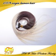 2015 neue Produkte! Ombre Farbe Top Qulity Menschenhaar-Band in Remy Haarverlängerungen