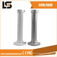 Suporte de montagem de tubo de câmera de CFTV de carcaça de alumínio fundido sob pressão