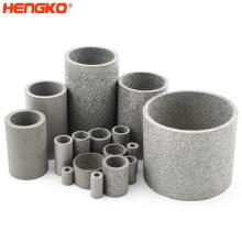 0.5 10 50 micron sinter metal cartridge filter stainless steel porous metal filter cartridge