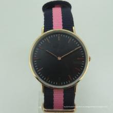 Cheap Japan PC21 Mujeres Minimal Nylon Quality Watch