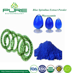 Blue spirulina Phycocyanin powder
