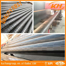 API 5CT Gehäuse Slotted Screen Pipe