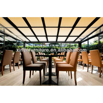 Beautiful restaurant tables and chairs XY0789