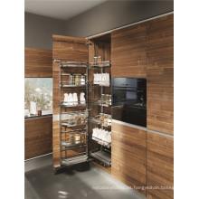 Tablero de la melamina de la partícula Gabinete de cocina Simple Designs (ZHUV)