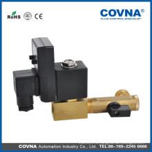 Клапан слива воды, переменный ток: 24 В, 120 В, 240 В, клапан 110 В, латунный клапан, клапан таймера