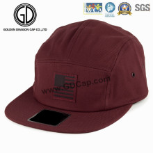 2016 Hot Fashion Cap Manufacture Camper Hat with Leather Logo