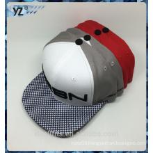 2016 New design for grid visor 5 panel snapback cap good quality