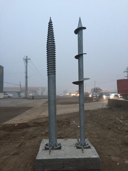 huge ground screw