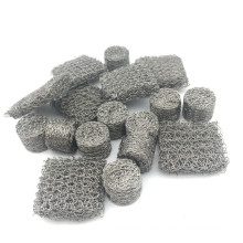 316 304 Stainless Steel Compressed Knitted Wire Mesh Snow Foam lance mesh Filter