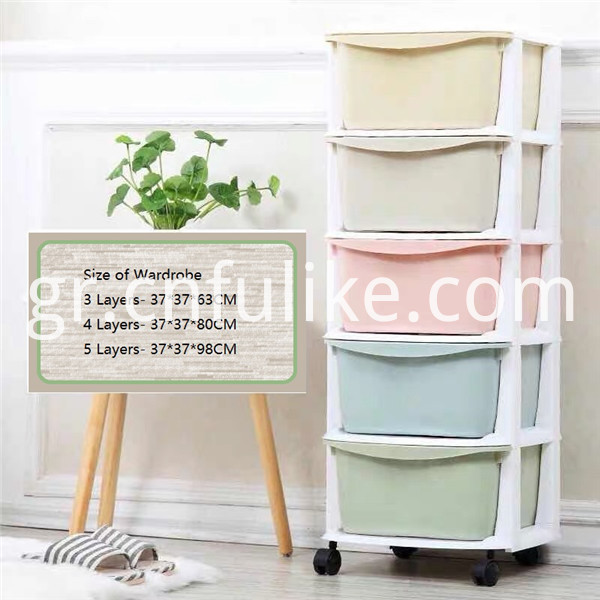 Plastic Drawers Organizer