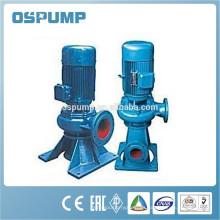 Bomba de transferencia diesel eléctrica de las aguas residuales sumergibles verticales verticales del alto flujo