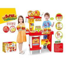 Super Fast Food Shop Cozinha Brinquedos-Controle Remoto Set
