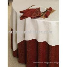 100 % Polyester Tischdecke, Hotel/Bankett Tisch decken
