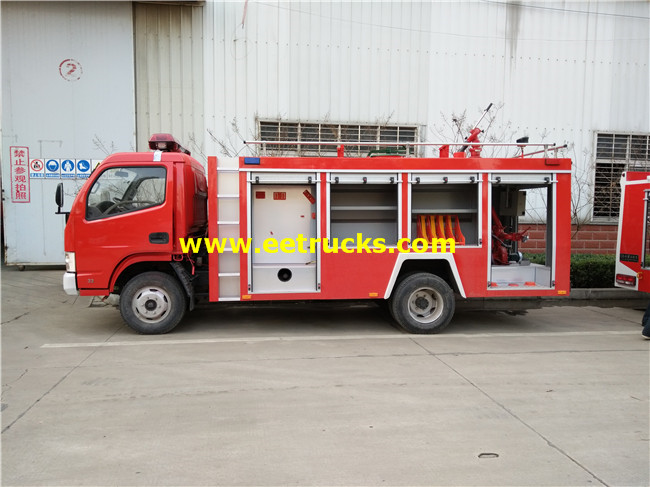 6000L 150HP Fire Water Vehicles