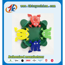Colorful Funny Plastic Jump Frog Toy for Sale