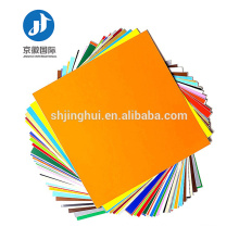 High quality PVC heat transfer film vinyl for variety of colors optional