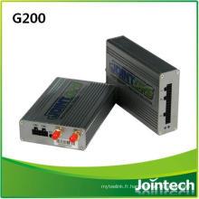 Système de surveillance de générateur avec capteur de consommation de carburant