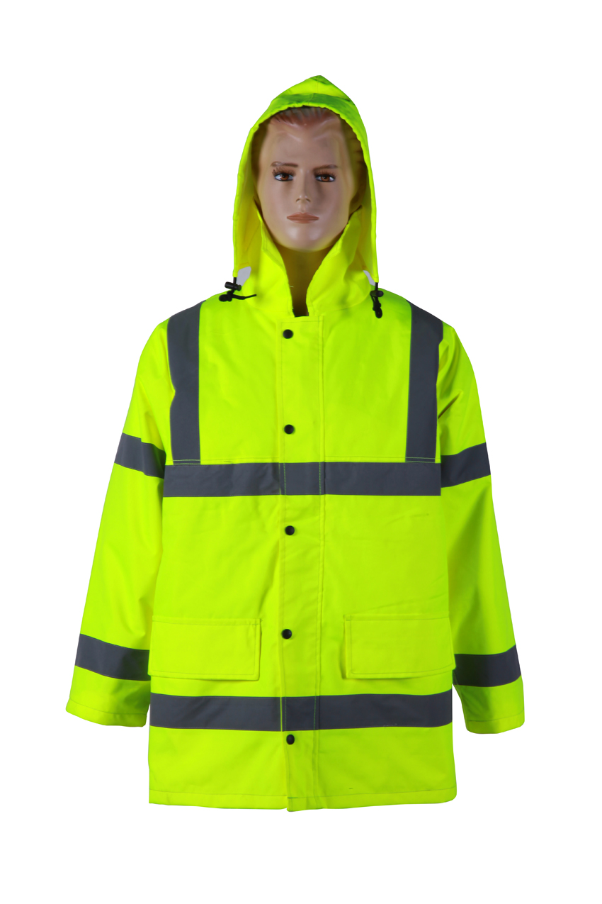Waterproof Reflective Safety Jacket