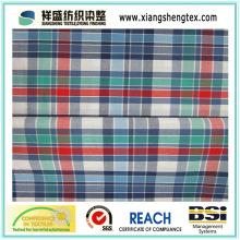 Garn-gefärbtes Baumwoll-Plaid-Gewebe für Hemd (50s * 50s)