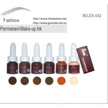 Encre et pigment de maquillage permanent pour sourcils Professinal (ZX-042)