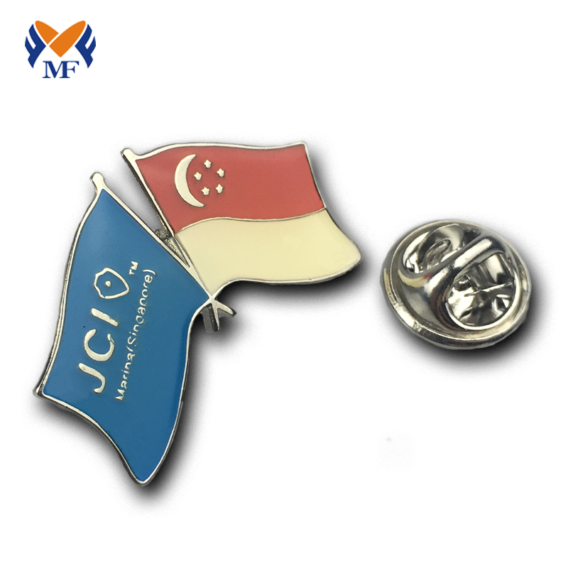 Epoxy Flag Pin