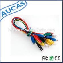 aligator clip cable / crocodile clip cable / aligator cable / crocodile cable / jumper cable