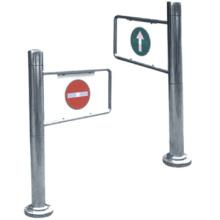 Metro de alta calidad abrelatas de la puerta de oscilación de aleta de puerta torniquete torniquete puerta automática