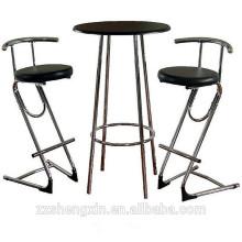 Table en métal Bar Table Set table et chaise