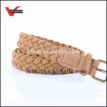 ladies pu make braided belt